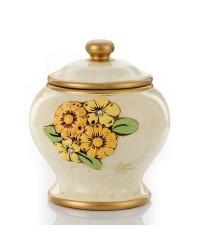 Biscottiera fiori