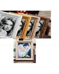 """Portafoto in polistirene """"Frida""""13 X 18 cm."""