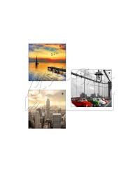 Canvas world landscapes 60 X 60 cm. Varie stampe.